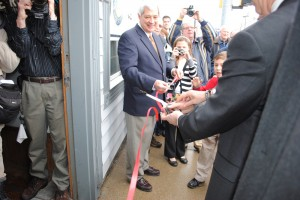 Ribbon Cutting at new district office
